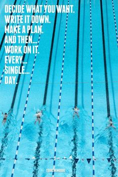 Everything you ever wanted to know about Michael Phelps, the greatest swimmer of all time. Usa Swimming, Swimming Memes, I Love Swimming, Swimming Sport, Motivation Sportive, Sport Motivation, Triathlon Motivation, Swimming Posters, Citations Sport