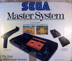 Sega Master System... the FIRST gaming console in our home was a Sega! THE BEST!!