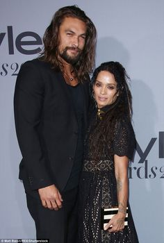 Man and wife:The Red Road star and his girlfriend of 12 years tied the knot last month in Topanga Canyon, just outside Los Angeles (pictured 2015)
