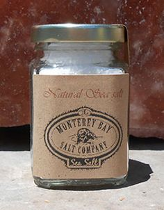 Natural Monterey Bay Sea Salt