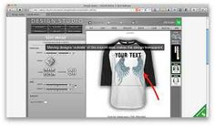 T shirt design software on pinterest online tshirt for Custom t shirt software