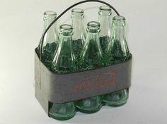 Vintage Coca Cola bottles