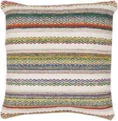Tender Tribal Magenta/Ivory Pillow