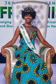 Moments Miss Africa 2018 Winner's Hair Ignites During Firework Celebration