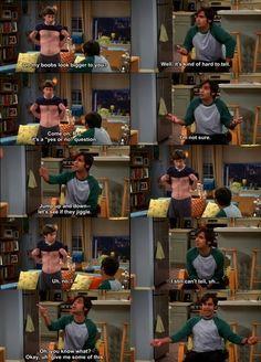 I swear this episode made me laugh sooo hard. Big Bang Theory Funny, Me Tv, Funny People, Teenagers, Bigbang, Favorite Tv Shows, Sarcasm, I Laughed, Bangs