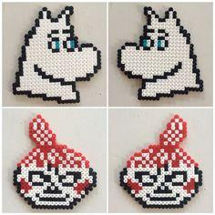 Bilderesultat for moomin knitting pattern Hama Beads Design, Hama Beads Patterns, Beading Patterns, Knitting Charts, Knitting Patterns, Cross Stitch Charts, Cross Stitch Patterns, Pixel Beads, Pixel Pattern