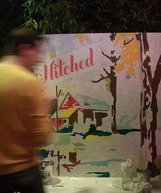 Paint by number for guests, leaving you with a one of a kind piece of art. Love!