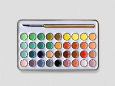 Artist Paint Pin – P