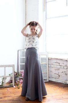 What i Made: The Gabriola (The Perfect Maxi Skirt Pattern) - Madalynne - The Cool Patternmaking and Sewing Blog