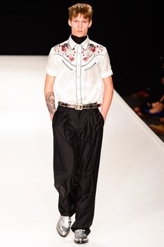 Male Fashion Trends: Topman Design Spring/Summer 2014: London Collections: MEN