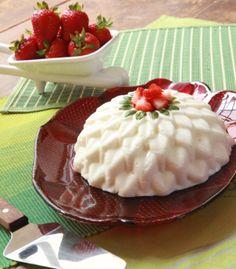 """¡""""Mousse de Cottage con fresas"""" en una receta PASO A PASO!"""