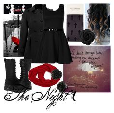"""The Night Circus"" by albino-oreo ❤ liked on Polyvore featuring Pull&Bear, BC Footwear, Collection XIIX, Forever 21 and Betsey Johnson"