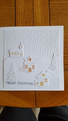 My first diy 2017 Christmas card. Really happy with how this turned out.