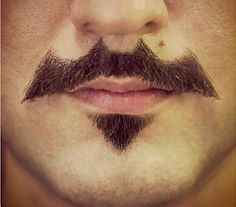 Batman Mustache #IncredibleThings