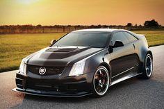 Hennessey Cadillac CTS-V Twin Turbo Coupe with insane horsepower Maserati, Bugatti, Sexy Cars, Hot Cars, E90 Bmw, Cadillac Cts V, Cadillac Eldorado, Cadillac Escalade, Hot Rides