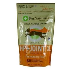 My favorite Hip and Joint supplement- it tastes like a chewy treats + has amazing ingredients! Pet Naturals Hip & Joint XL for dogs over 75 lbs. (60 count)