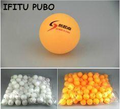 New 20 Pcs/lot Tennis White Orange Ping Pong Balls 4cm Orange Table Tennis Balls for beginners training