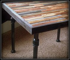Beautiful Rustic Yet Modern Furniture By Thezenartist Access Audio Bowling Alley Table