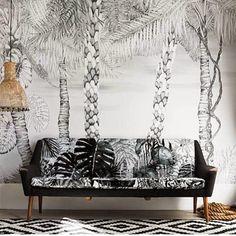 Poppytalk: On the Radar | Tropical Print Wallpapers