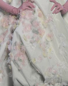 Christian Dior Haute Couture Spring 2011 Details