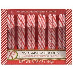 Classic Peppermint Candy Canes, 12-ct. Pack