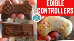 I absolutely loved these nostalgic gaming controllers moulds to make them edible! So cool! #myvirginkitchen #barrylewis