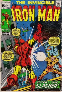 Iron Man 40 September 1971 Issue  Marvel Comics  by ViewObscura