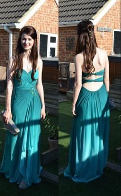 Green high low skirt long prom dresses ,A line open back custom made colorized ombre evening dress prom,green gradient formal women dress,backless graduation dress,bridesmaid dress