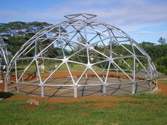Hurricane rated geodesic domes wood and steel tornados - Dome Inc.