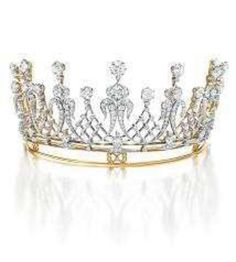 Mike Todd Diamond Tiara from the #bvlgari Elizabeth Taylor collection.  www.kristoffjewelers.com