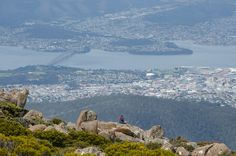 Mt Wellington loop hike via Organ Pipes, Zig Zag and Panorama tracks | Hobart, Tasmania - Fork and Foot
