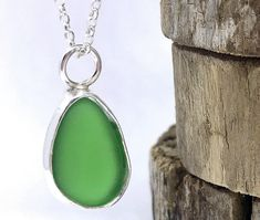 A personal favourite from my Etsy shop https://www.etsy.com/uk/listing/582783961/green-sea-glass-necklace-beach-glass #seaglass #beachglass #oceanjewellery #greenseaglass #lillyalexandrasilver #seaglassnecklace #greennecklace #seaglass