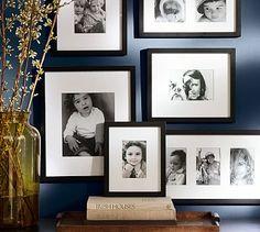 Wood Gallery Single Opening Frames - Black #potterybarn