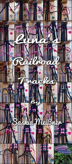 Luna's Railroad Tracks | Swiss Paracord