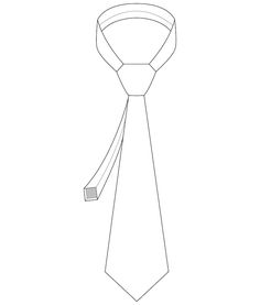 This is a classic men's necktie pattern, finished with tippings (those pretty lined ends) and a keeper (to keep the skinny bit hidden).  Create neckties identical to store bought ones at a fraction of a price.  AUD 5.00, instant download.