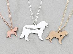 Bernese Mountain Dog Necklace Bernese Dog Jewelry Custom