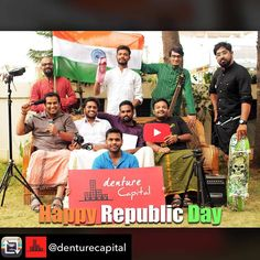 Repost from @denturecapital using @RepostRegramApp - The Cartel wishes you a Happy #RepublicDay!