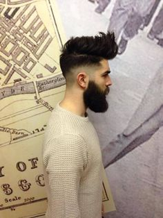 Sweater +hair + fade