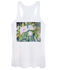 Wild Roses Women's Tank Top featuring the painting Wild Roses by Sabina Von Arx Creative Colour, Tank Man, Roses, Tank Tops, Sweatshirts, Painting, Fashion, Moda, Halter Tops