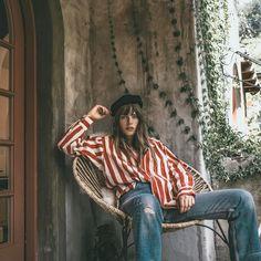 Jane Birkin Look-Alike Model Charlotte Gainsbourg, Serge Gainsbourg, Jane Birkin Style, Lou Doillon, Girl Fashion, Fashion Outfits, Trendy Outfits, Mira Duma, Looks Vintage