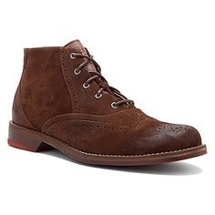 Wolverine 1883-Paxton Red Sole Chukka found at #OnlineShoes