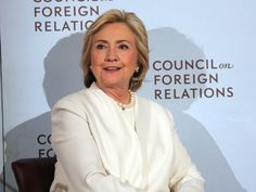 Hillary Clinton focused on her real enemy - Americans who disagree with her - in a campaign speech on Thursday.