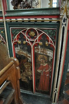 Bloxham 15th century screen the gift of Cardinal Wolsey DSC_0003_01-247