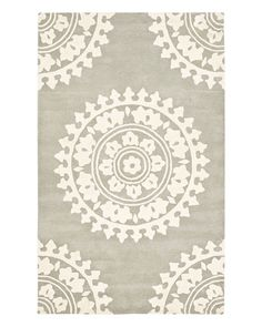 Just purchased this as a round rug for entryway from Rue LaLa
