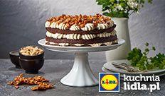 """Tort orzechowo-czekoladowy """"Manhattan"""". Kuchnia Lidla - Lidl Polska #pawel #tort"""