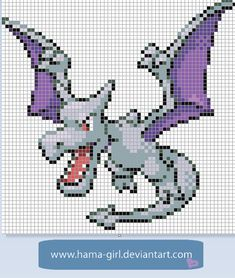 Aerodactyl by Hama-Girl.deviantart.com on @deviantART