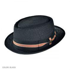 Biltmore Dijon Braid Porkpie Hat