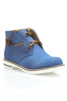 Maker's Shoes Pop 2 Booties In Blue - Beyond the Rack $29.99