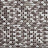 Found it at Wayfair - Confetti Porcelain Mosaic Tile in Freddo