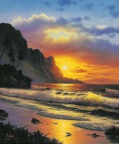 Anthony Casay Fine Art Sunset